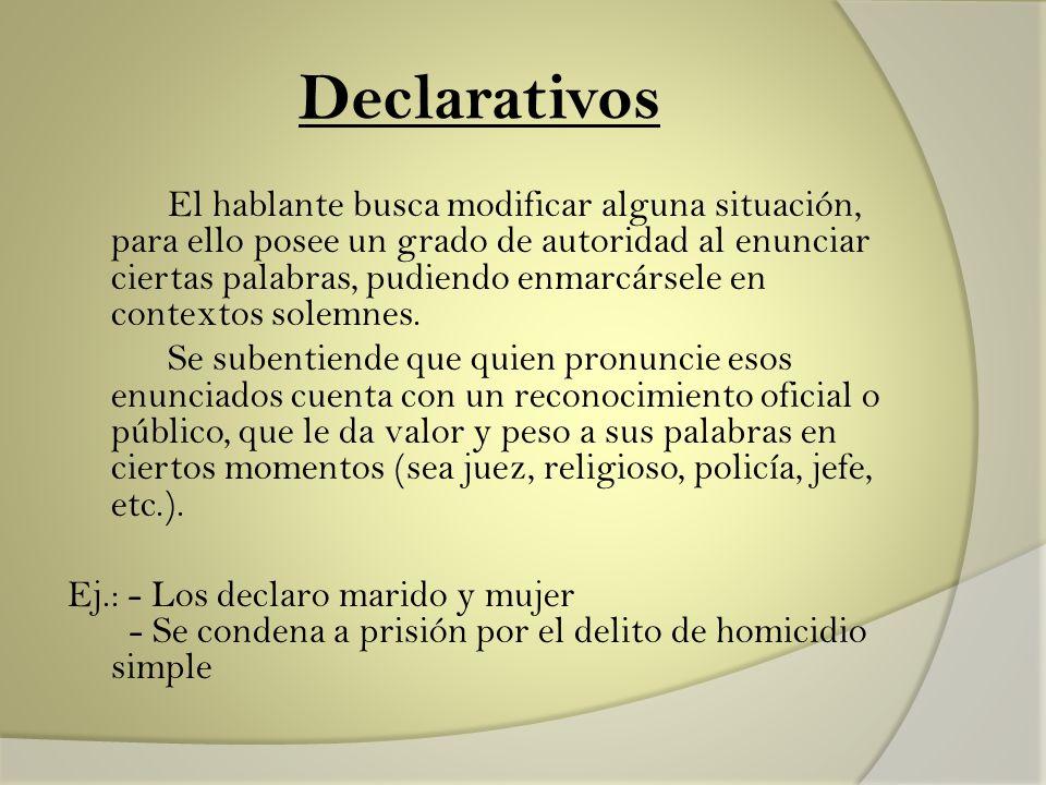 Declarativos