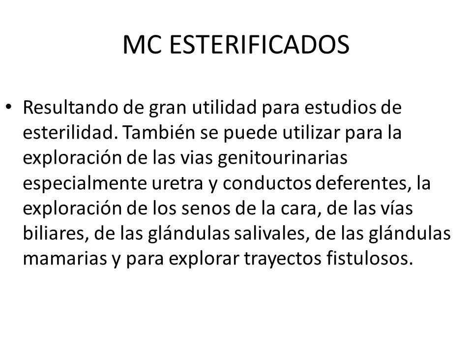 MC ESTERIFICADOS