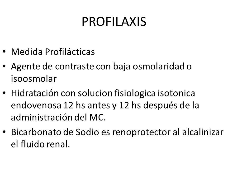 PROFILAXIS Medida Profilácticas