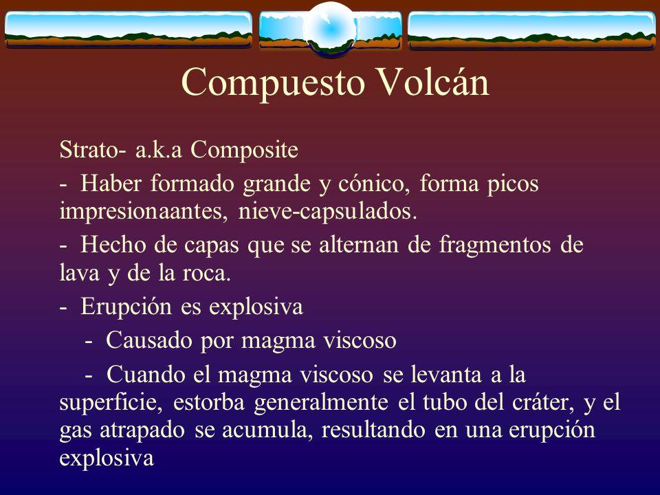 Compuesto Volcán Strato- a.k.a Composite