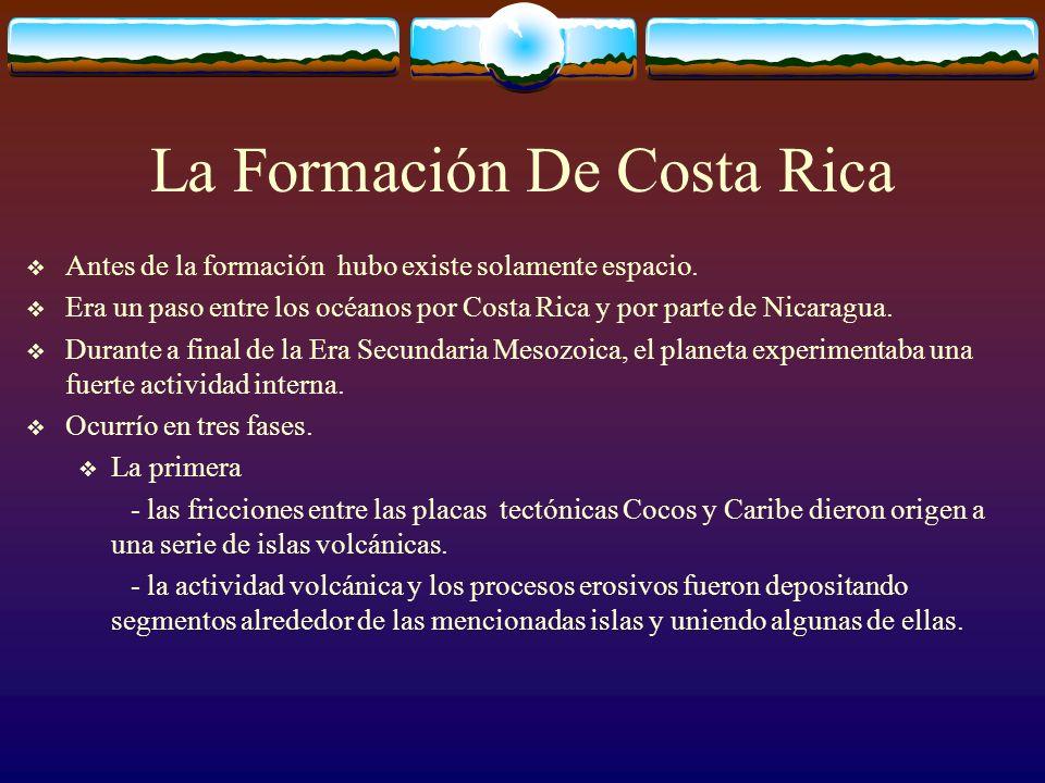 La Formación De Costa Rica