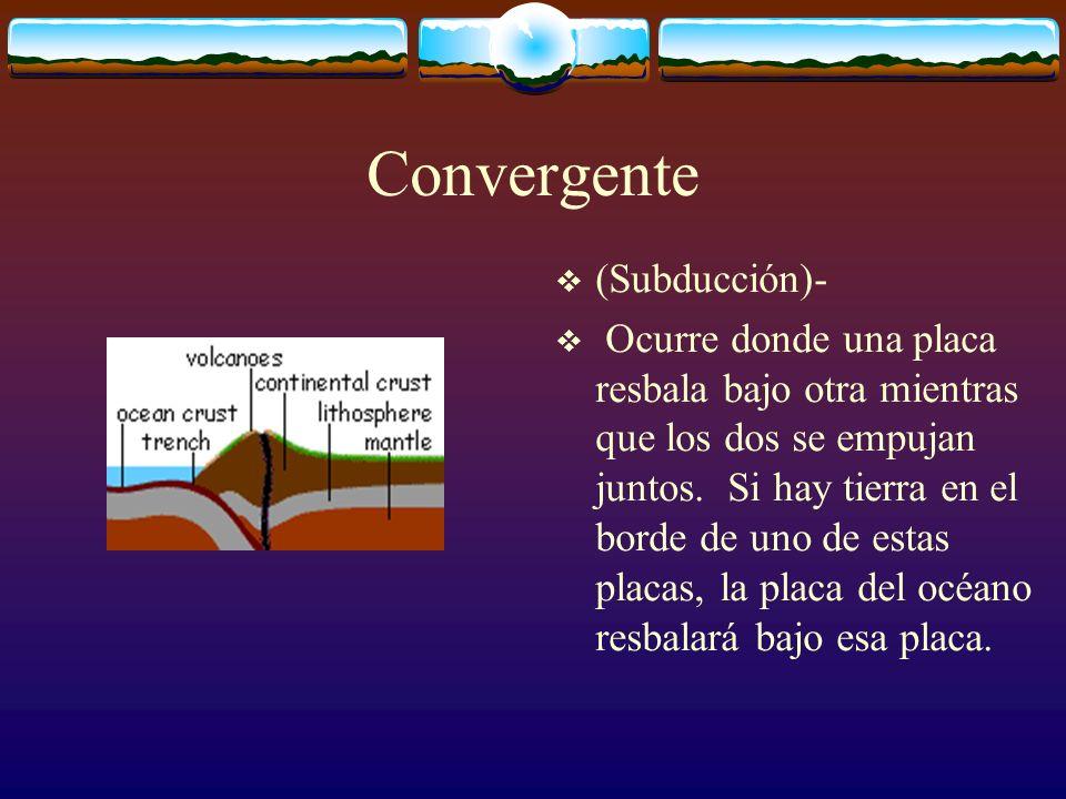 Convergente (Subducción)-