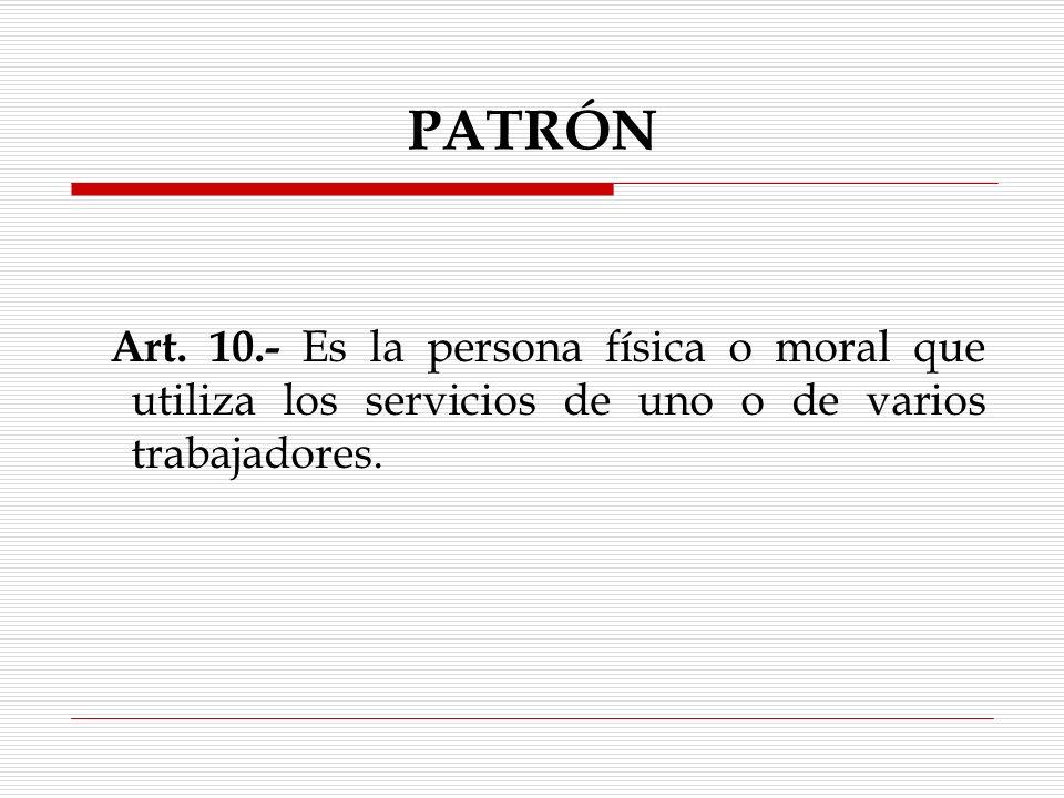 PATRÓN Art.