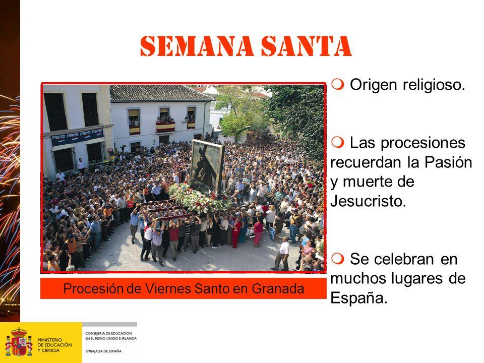 Procesión de Viernes Santo en Granada