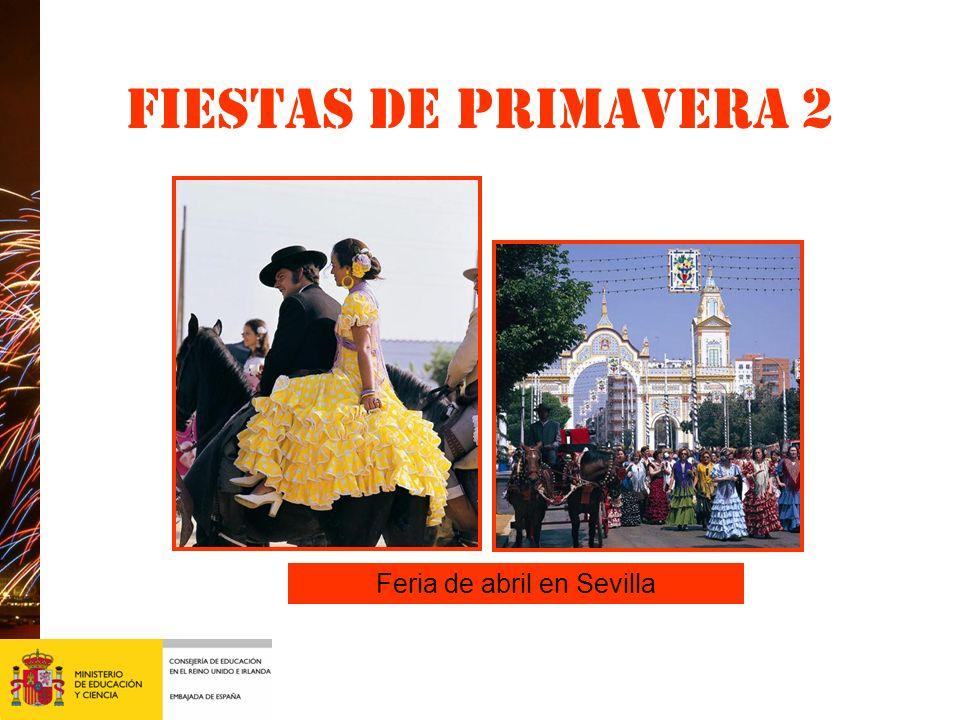Feria de abril en Sevilla