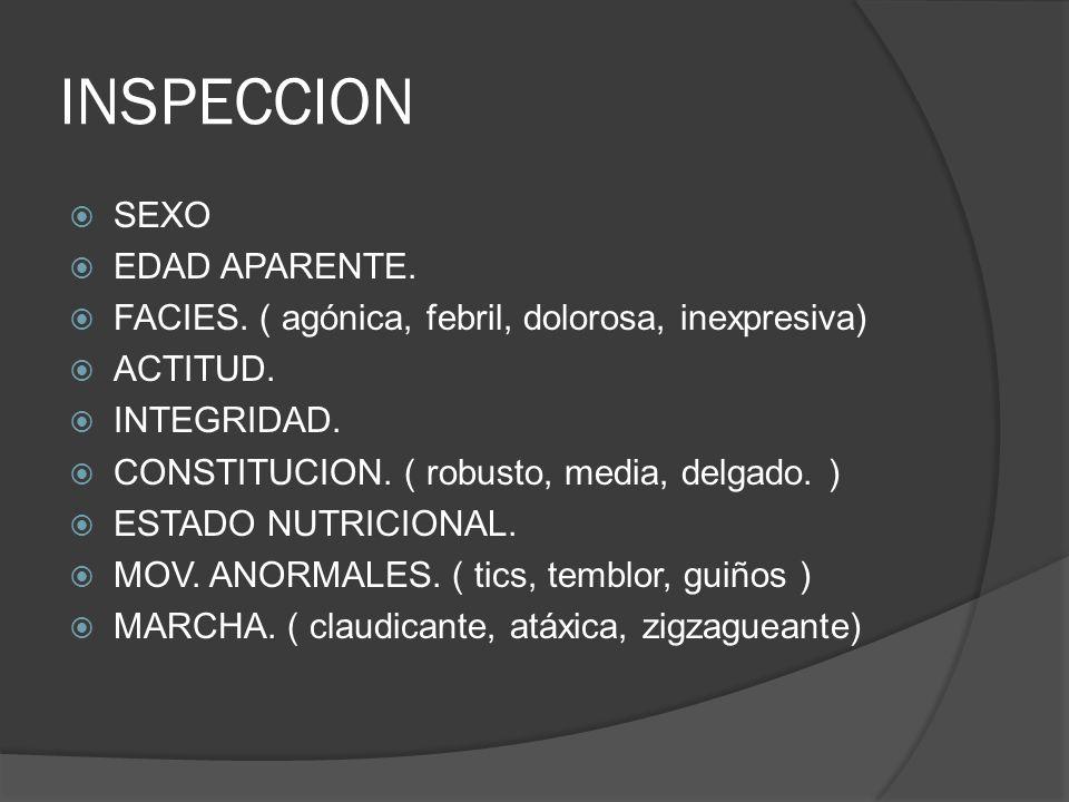 INSPECCION SEXO EDAD APARENTE.