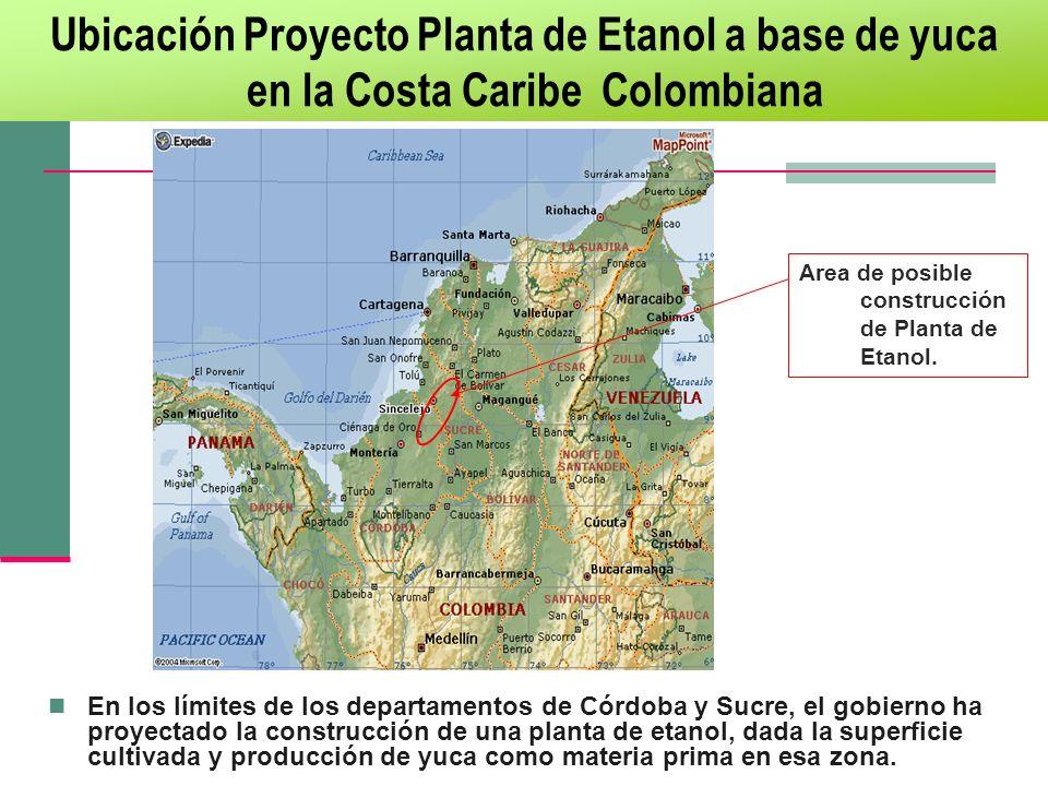 Ubicación Proyecto Planta de Etanol a base de yuca