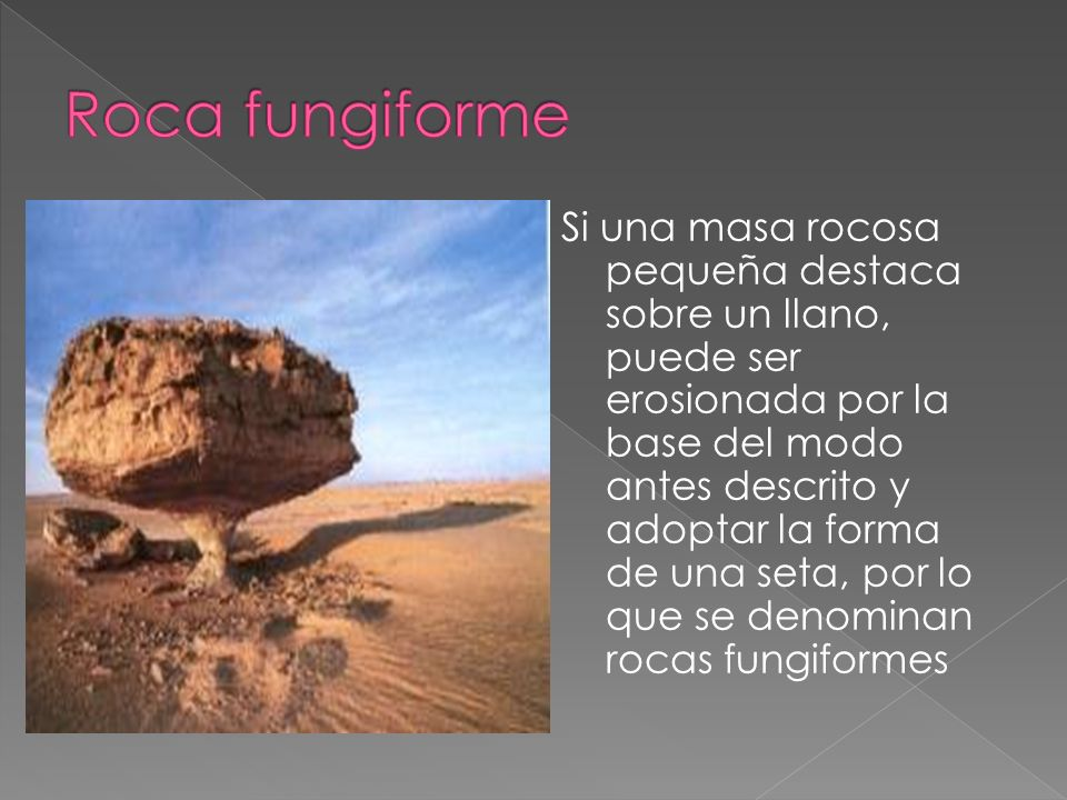 Roca fungiforme
