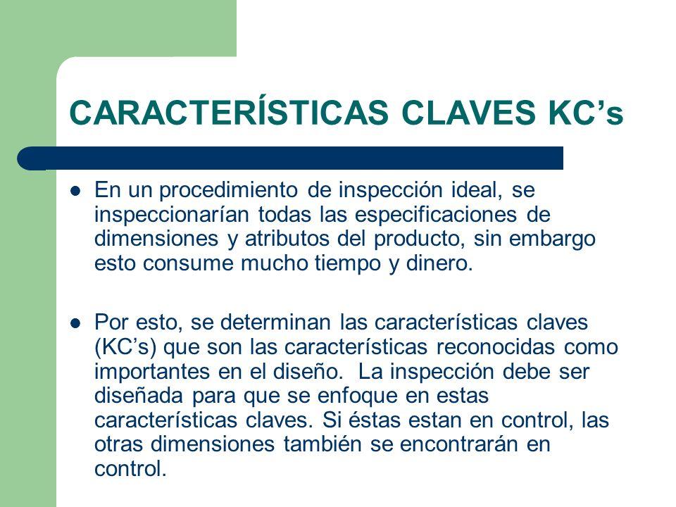 CARACTERÍSTICAS CLAVES KC's