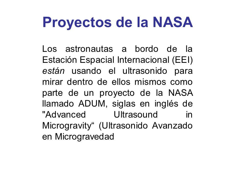 Proyectos de la NASA