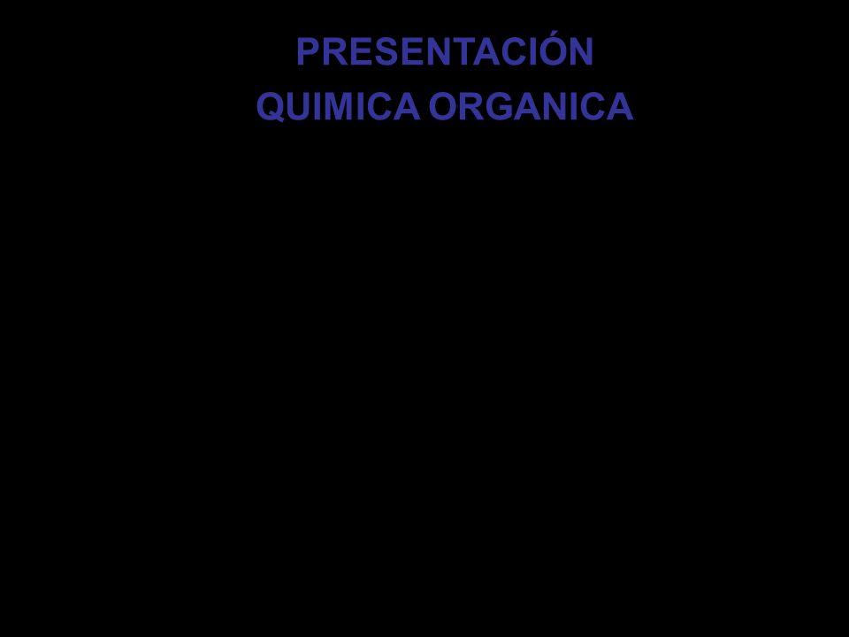 PRESENTACIÓN QUIMICA ORGANICA