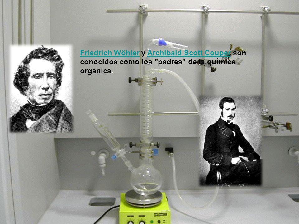 Friedrich Wöhler y Archibald Scott Couper son conocidos como los padres de la química orgánica.