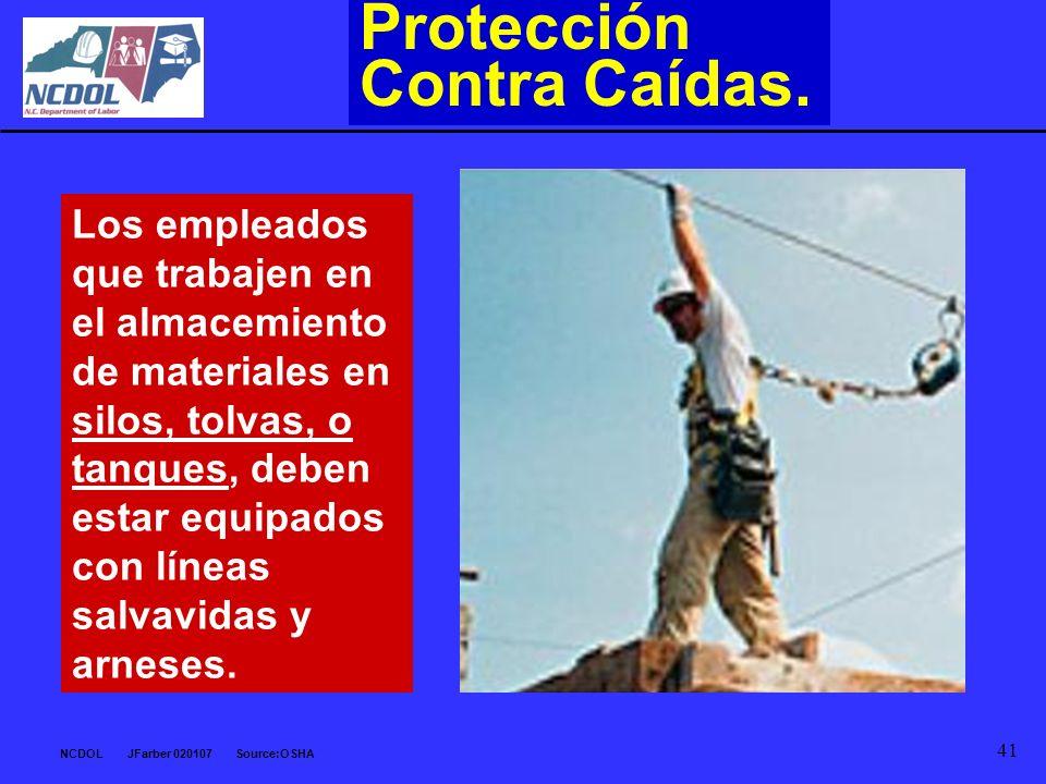 Protección Contra Caídas.