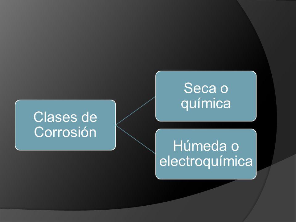 Húmeda o electroquímica