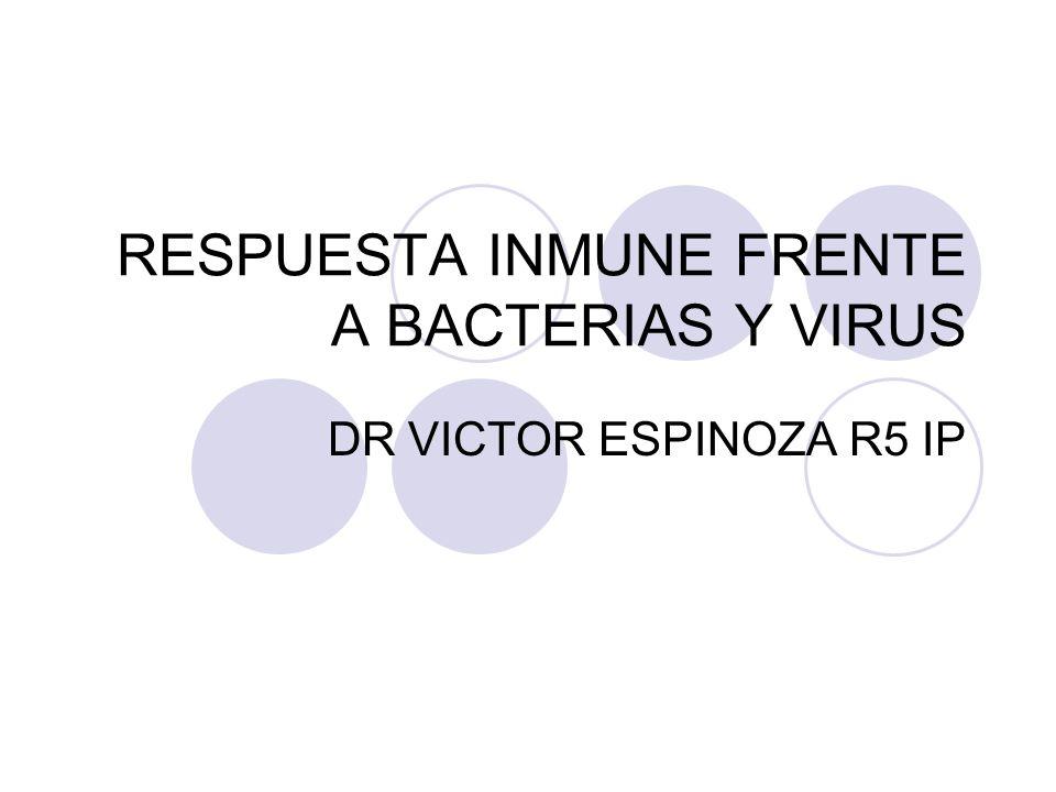 RESPUESTA INMUNE FRENTE A BACTERIAS Y VIRUS