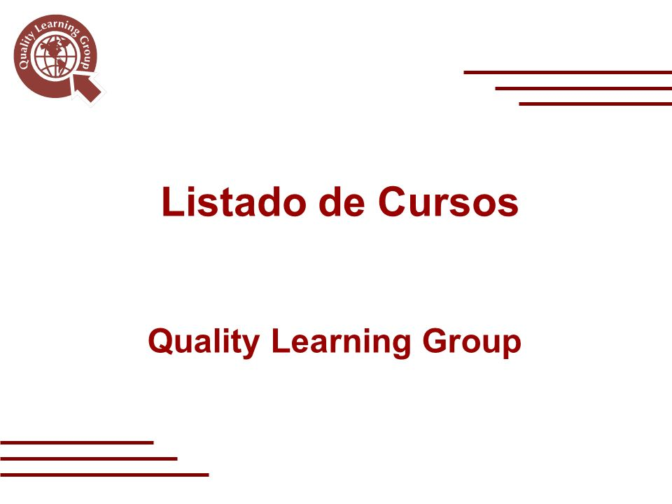 Quality Learning Group