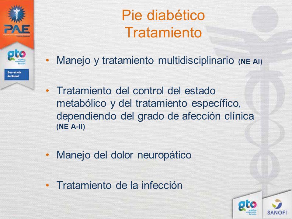 Pie diabético Tratamiento