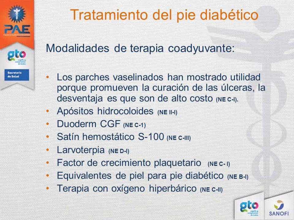 Tratamiento del pie diabético