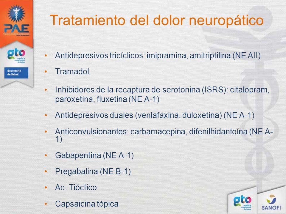 Tratamiento del dolor neuropático