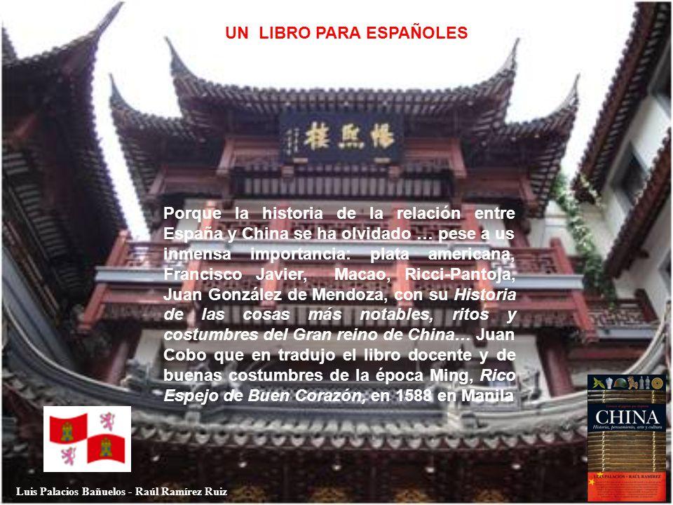 UN LIBRO PARA ESPAÑOLES Luis Palacios Bañuelos - Raúl Ramírez Ruiz