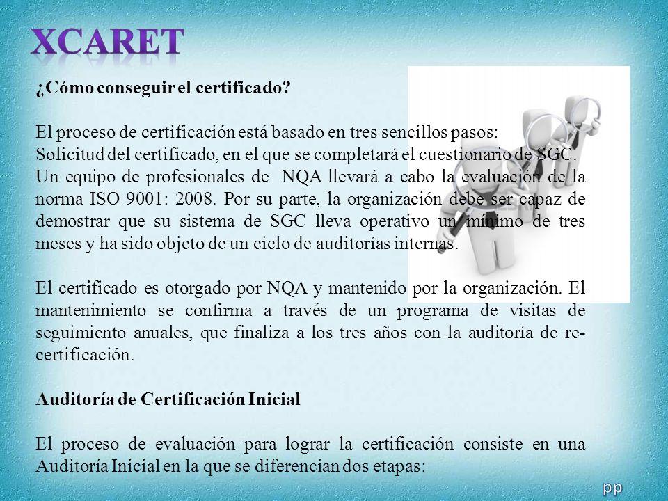 XCARET ¿Cómo conseguir el certificado