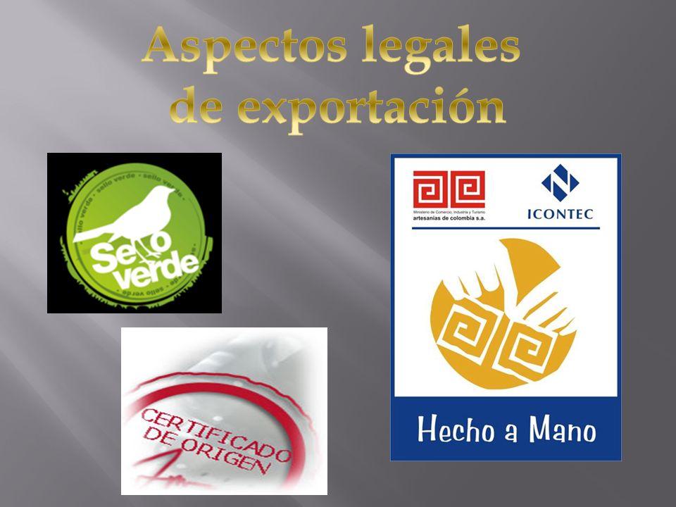 Aspectos legales de exportación
