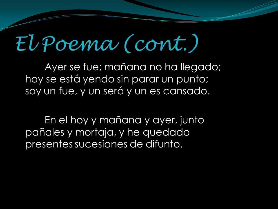El Poema (cont.)