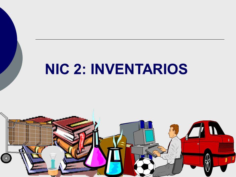 NIC 2: INVENTARIOS