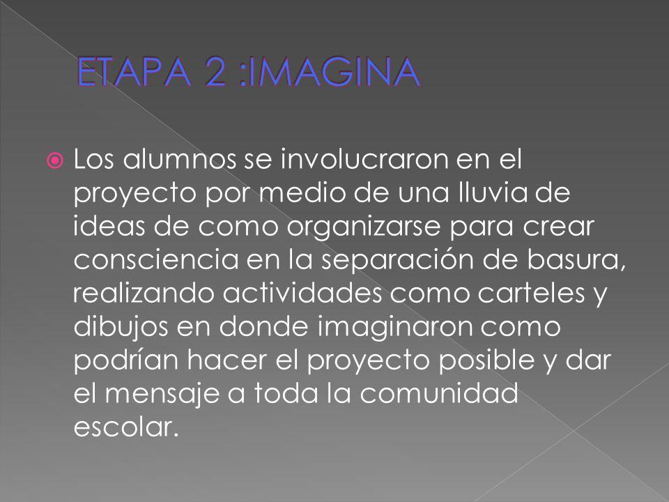 ETAPA 2 :IMAGINA