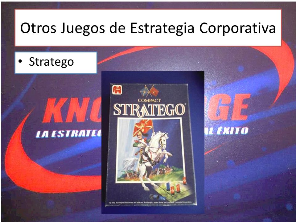Otros Juegos de Estrategia Corporativa