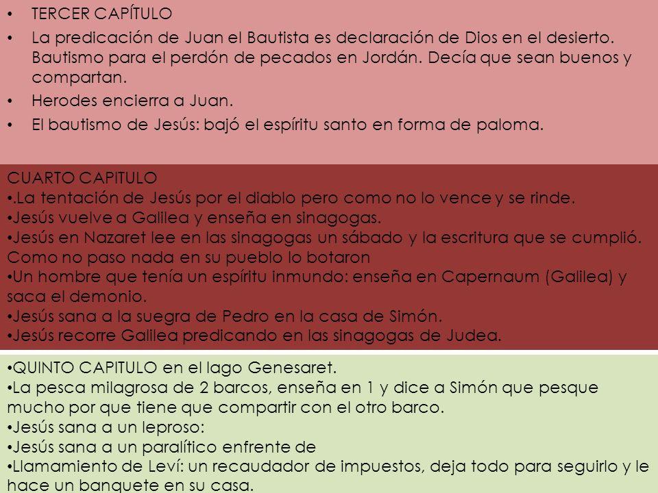 TERCER CAPÍTULO