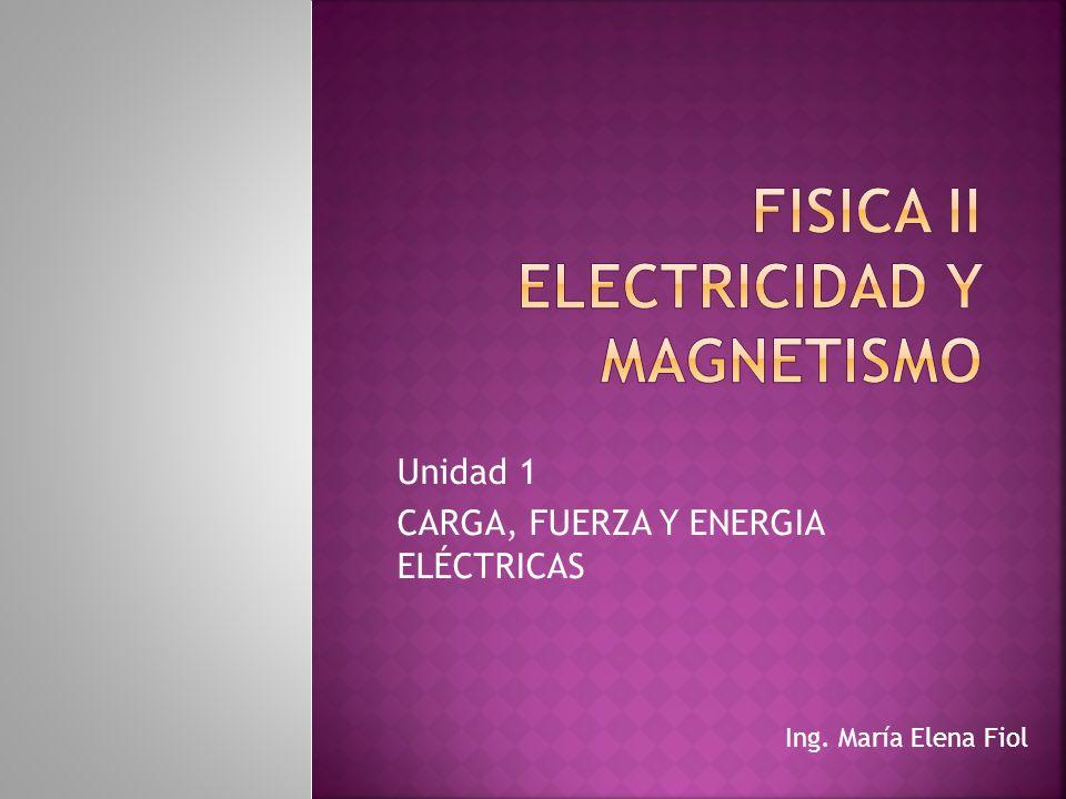 FISICA II Electricidad y magnetismo