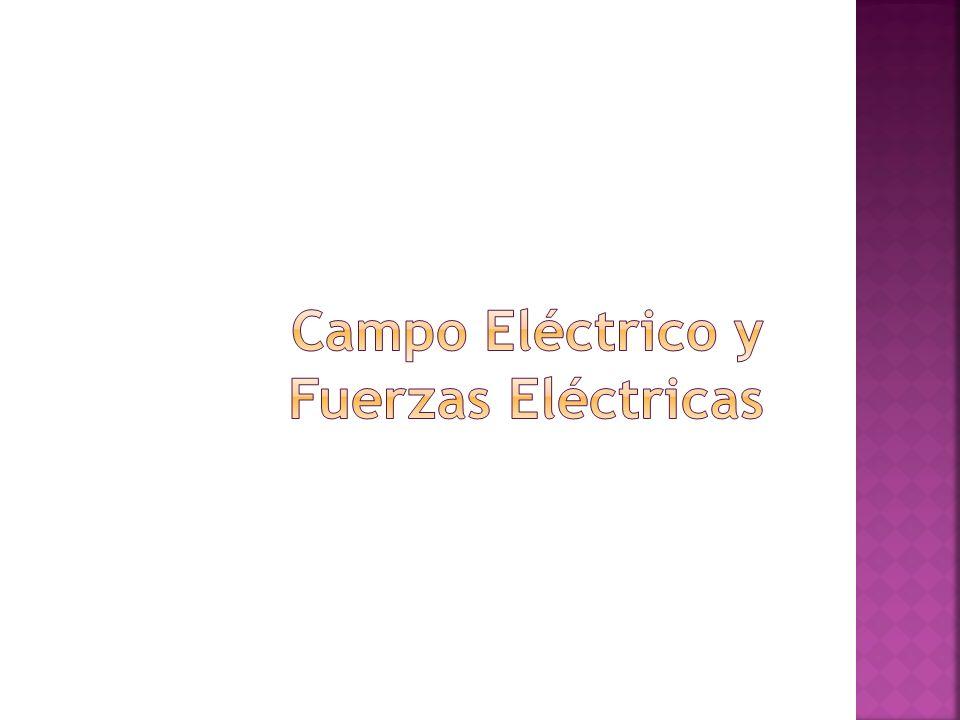 Campo Eléctrico y Fuerzas Eléctricas