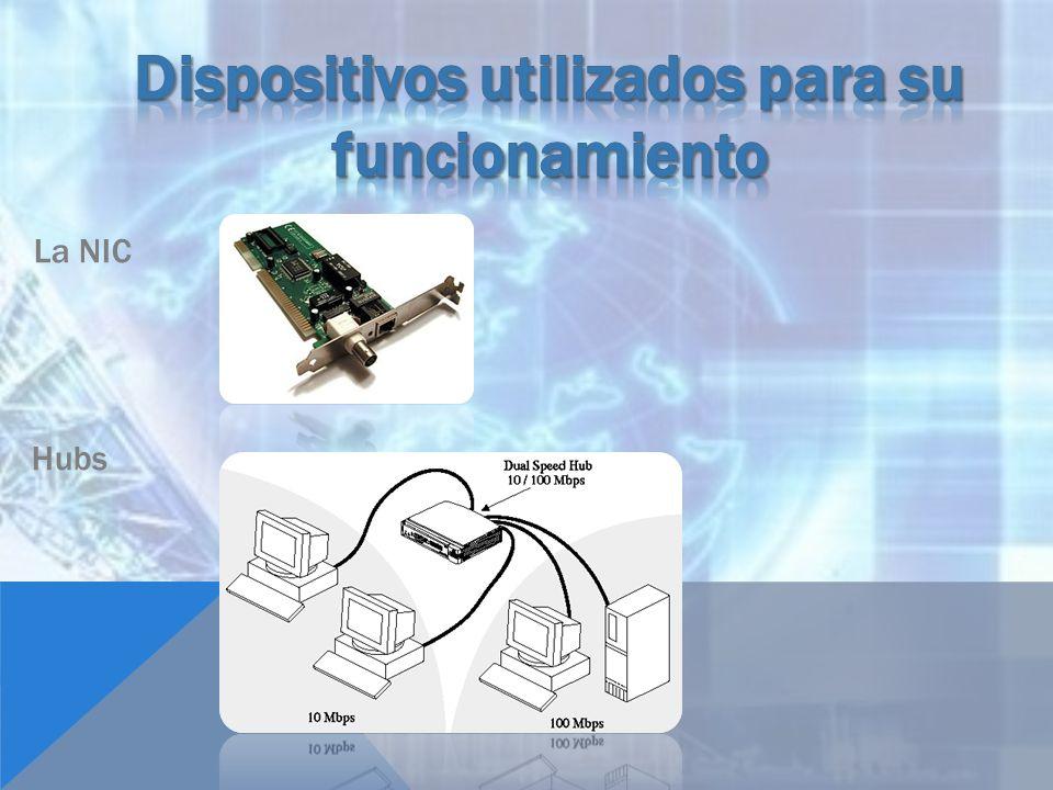 Dispositivos utilizados para su funcionamiento