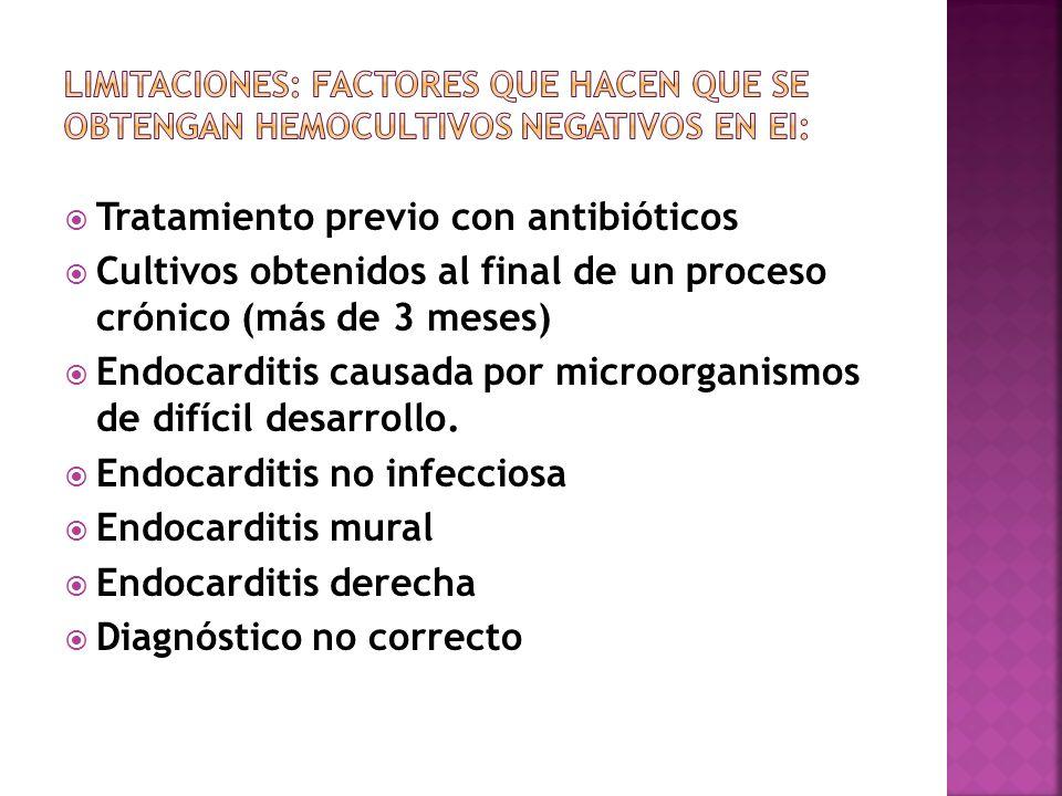 Tratamiento previo con antibióticos