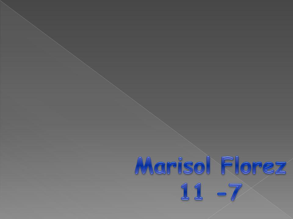 Marisol Florez 11 -7