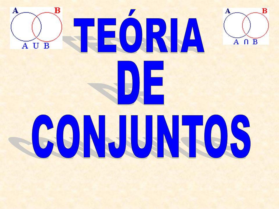TEÓRIA DE CONJUNTOS