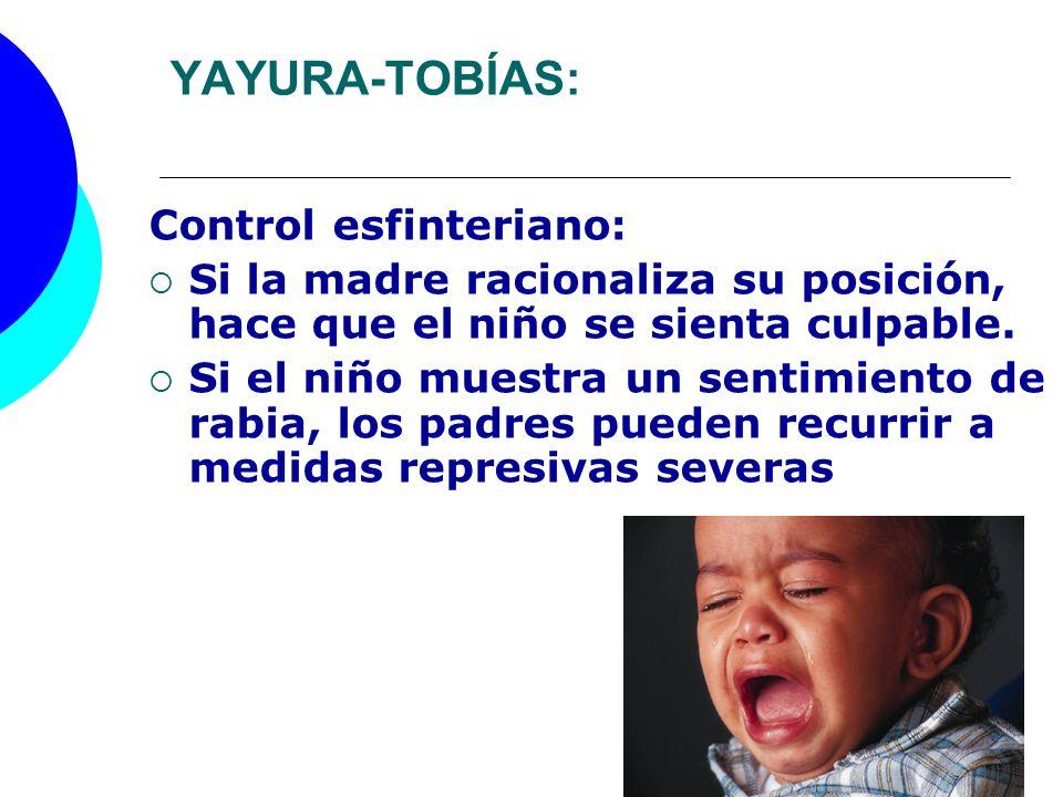 YAYURA-TOBÍAS: Control esfinteriano: