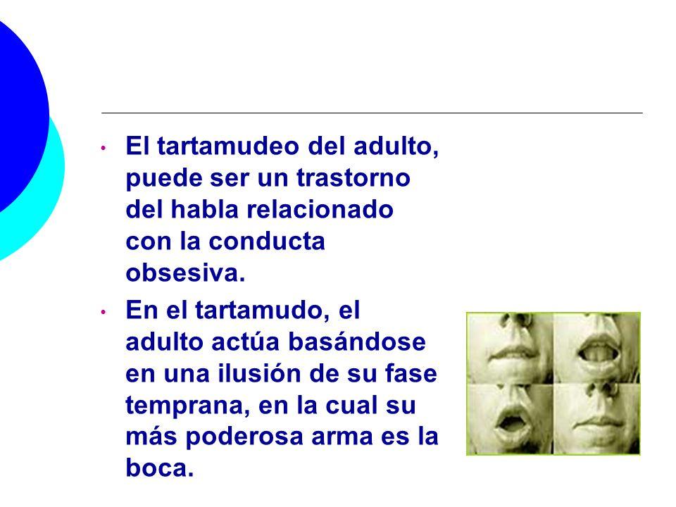 El tartamudeo del adulto, puede ser un trastorno del habla relacionado con la conducta obsesiva.