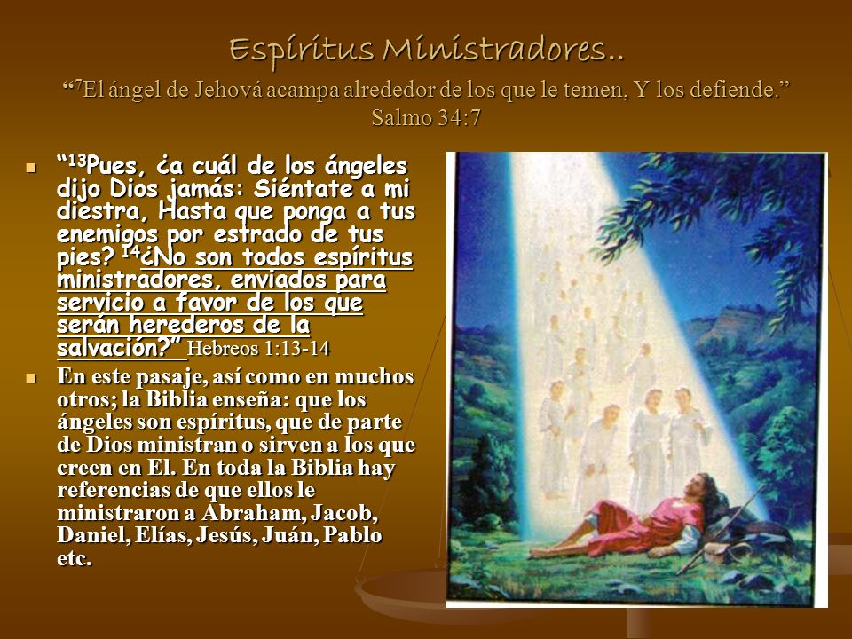 Espíritus Ministradores