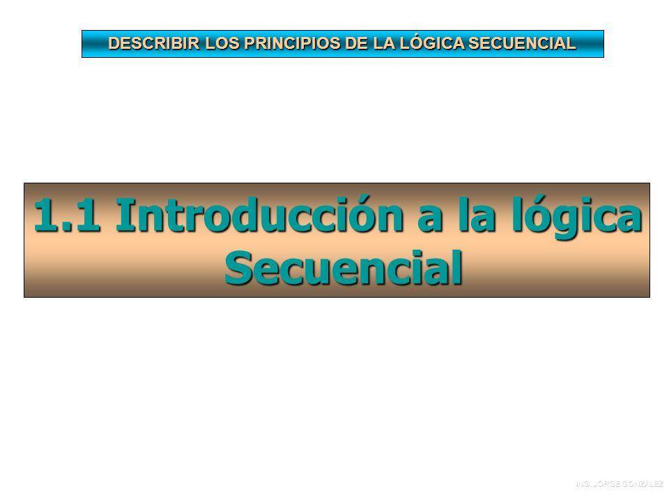 1.1 Introducción a la lógica Secuencial