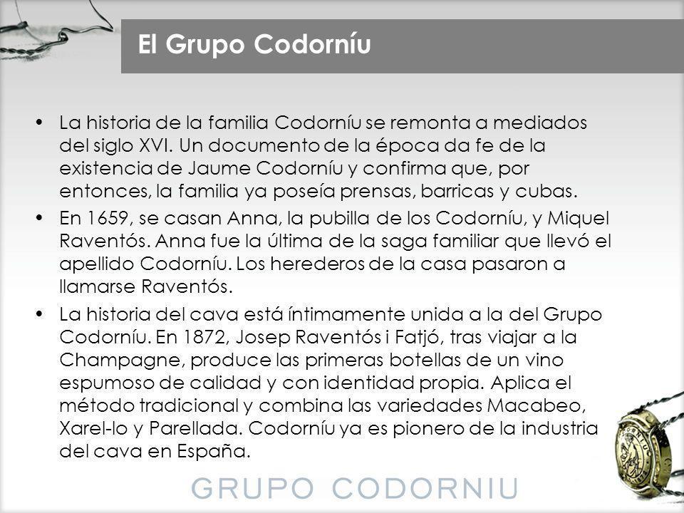 El Grupo Codorníu