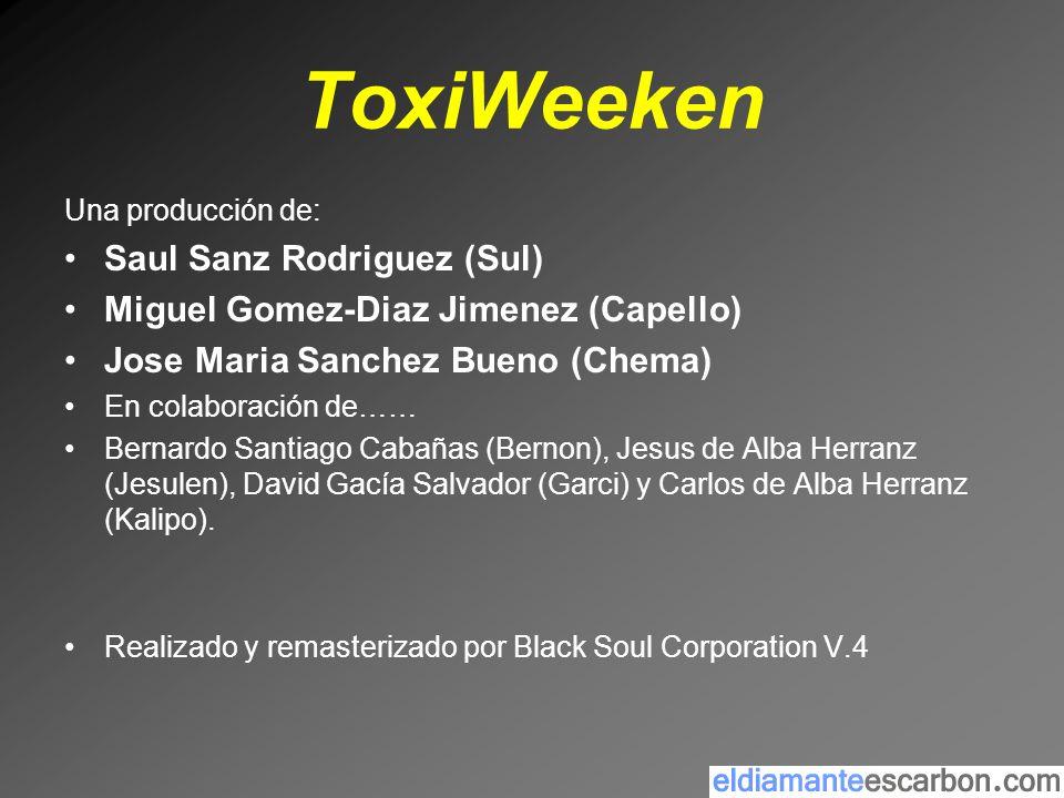 ToxiWeeken Saul Sanz Rodriguez (Sul)