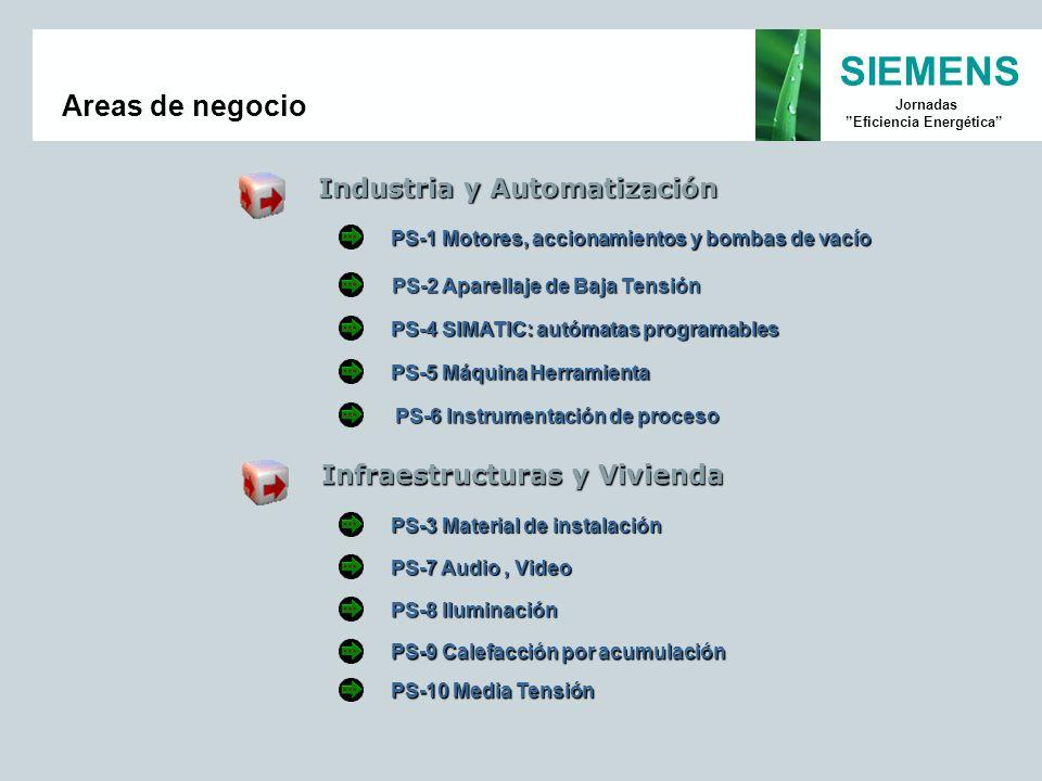 Areas de negocio Industria y Automatización