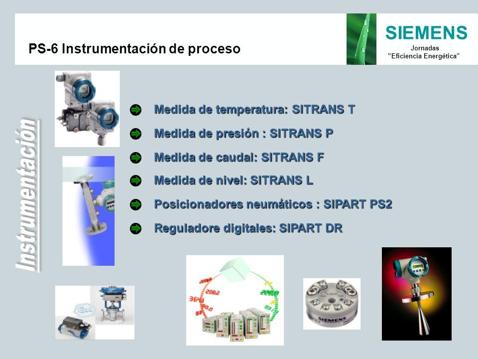 PS-6 Instrumentación de proceso
