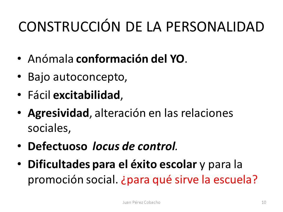 CONSTRUCCIÓN DE LA PERSONALIDAD