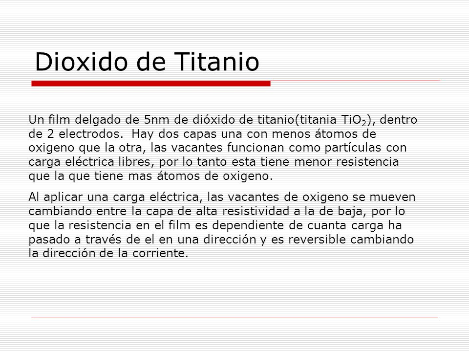 Dioxido de Titanio
