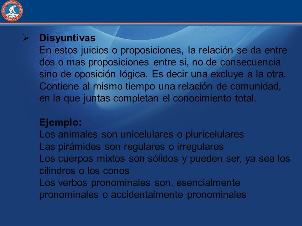 Disyuntivas