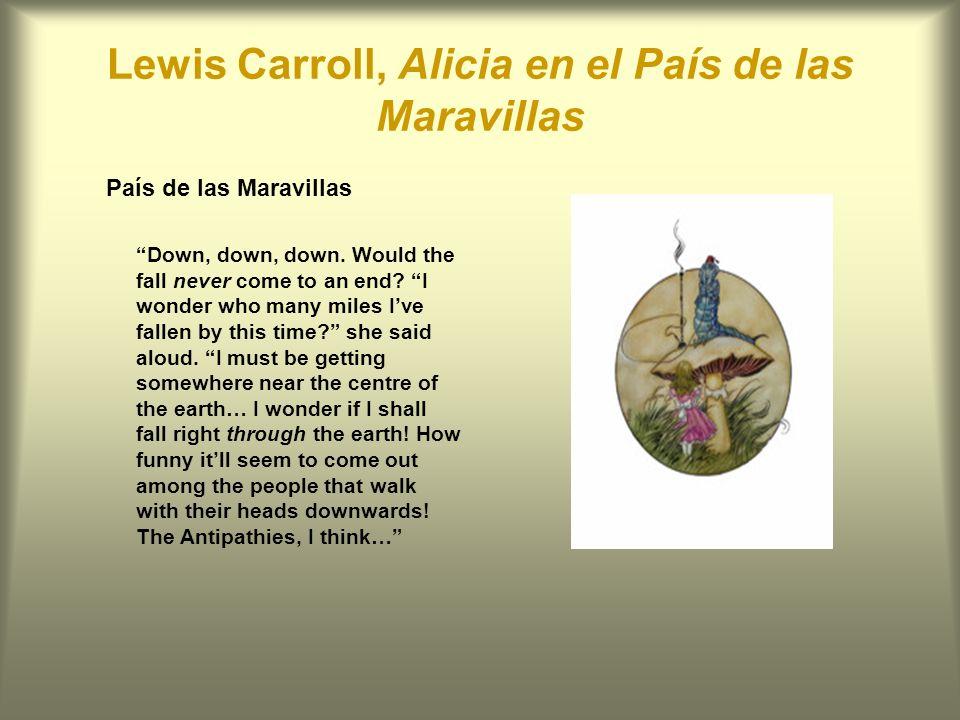 Lewis Carroll, Alicia en el País de las Maravillas