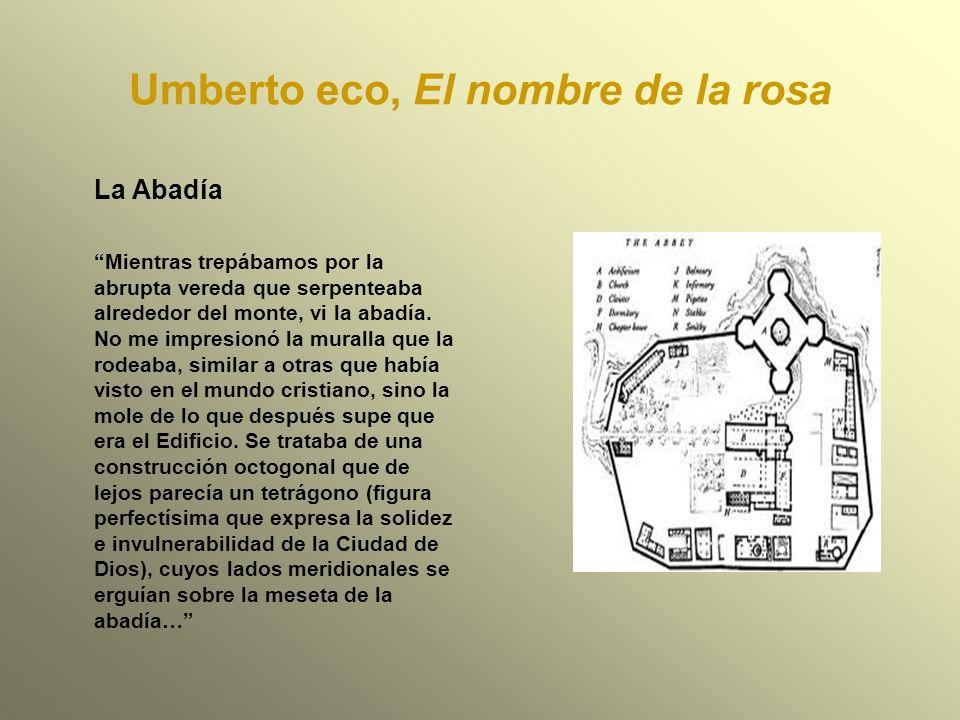Umberto eco, El nombre de la rosa